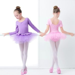 Toddler Girls Ballet Dance Wear Dress Pink Princess Ballet Tutu Stage Dance Wear For Kids Children Gymnastics Leotard Clothing