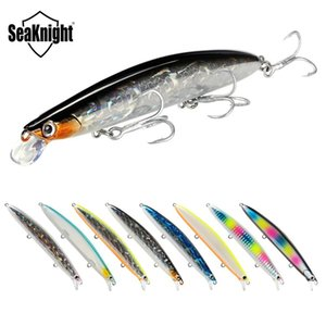 SeaKnight SK008 Long Casting Minnow 20g 125mm Fishing Lures Wobblers Minnow 0.3-0.9M Hard Bait Fishing Accessories 8 Colors Q1123