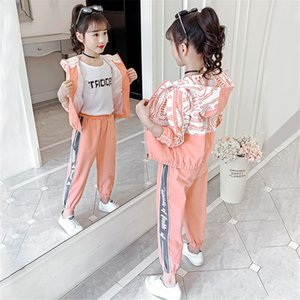 2pcs Children Clothing Sets Spring Autumn Sports Suits for 5 6 7 8 9 10 11 12 Years Girls Sportswear Casual Teenager Tracksuits