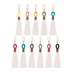 Key Chain Handmade Bohemian Boho Colorful Tassel Fashion Exquisite Keychain Gifts For Love And Yourself Holiday Gift