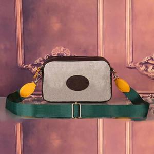 Designer Neue Kamerataschen mit mehrfarbigem Muster Nette Beutel für Reise Damen Beutel Frauen Mode Taschen