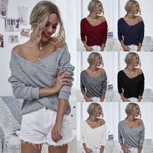 Design Women's Knitwear New Long Sleeve Top In Autumn And Winter 2020 Faux Fur Women Vest For Female