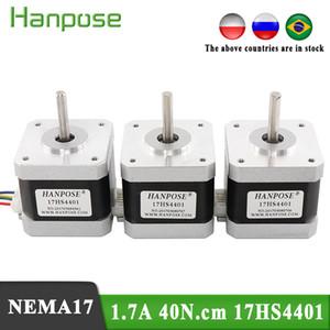 Бесплатная доставка высота высота NEMA17 шаговый двигатель 42 двигатель 1.7A 40N.CM 17HS4401 для 3D-принтера двигателя CNC XYZ