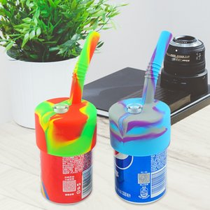 wholesale tobacco silicone smoking water hand pipe lid with glass accessories for flowers dry herbs high quantity food grade weeding