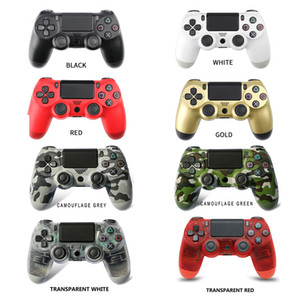 Wireless Bluetooth Gamepad Joystick Controller Gamepad Game Console Accessory USB Handle Gamepad No Logo per PS4 PC Controller con scatola
