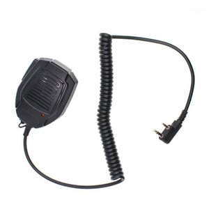 Original Professional Microphone Wired stereo PSpeaker Microfono for TH-UV8000D MD-380 UV-5R Portable Two Way Radio BF-888S1