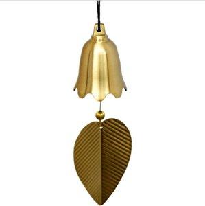Pure Copper Wind Bell Pendentif Exquis Creative Home Balcon Chambre à coucher Vent Bell Connectèle Voiture Pendentif Anniversaire Fournitures Fête Favoris GWC6050