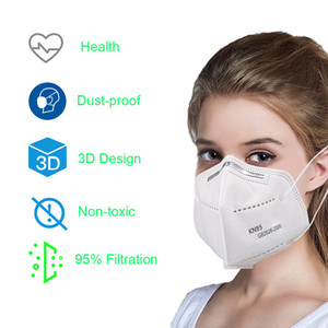 PM2.5 Dustproof Anti-Dust 95% Filter Mask Breathable Comfortable Metal Nose Mask Outdoor Protective Features Free shipping