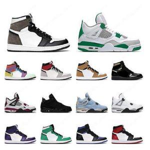 Новое поступление Союза Баскетбольные туфли Jumpman Mens Womens 4 OFF 4S SAAP CACTUS JACK ЧТОБЫ КРУЗОВЫЕ КРУЗОВЫЕ Кроссовки
