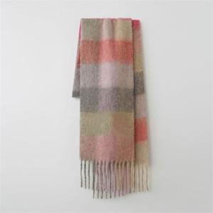 Cross Border Hot Sale Adult Winter Christmas Series Woolen Light Warm Knitted Scarf Set Wholesale#325