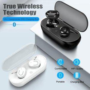 B2 TWS Wireless Bluetooth Headset Stereo Sports Earphone LED Lighting Binaural Call Headphone Suitable For Mobile Phones Tablet
