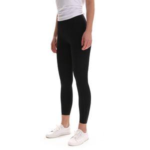Yoga Pants Capris Women's Double Face Pocket High Waist Slim Yoga Leggings Running Fitness Hip Tights Gym Clothes Women Leggings Trouses