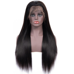Lace Front Human Hair Wigs Straight 13x4 Pre Plucked 150% Malaysian Remy Human Hair Wigs Closure Wig Lace Frontal Wigs For Women