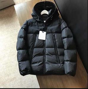 Erkek Tasarımcı Ceket Kapşonlu Kış Rüzgarlık Ceket Aşağı Kalın Hoodie Dış Giyim Moda Ceketler Erkekler Aşağı Ceket