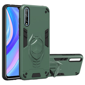 Estuche de armadura robusta para Huawei P Smart Honor 9S Play 4T Funda protectora para Huawei Y8P Y6P Y5P Y7 Casos de teléfono Prime
