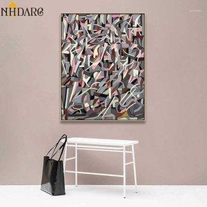 Artista Tamara de Lempicka Arte abstrata Estilo Pôsteres e Impressões Pintura de lona Imagem de parede para sala de estar Resumo Home Decor1