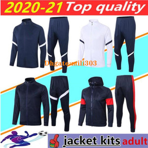 2020 2021 FRANCE long sleeve soccer jacket tracksuit survetement 20 21 france MBAPPE maillot de foot football training suit jogging