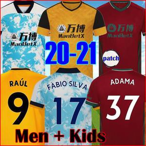 2021 TROISIÈME SOCCER JERSEYS TOP KIT DE PLUS FONBIO SILVA 20 21 VITTINHA RAUL NEVES KITS DE FOOTBALLES DE FOIS DE FOOTAUX WANDERS ADAMA T-shirt Hommes Enfants Set