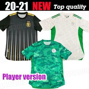 2020 2021 Argélia Mahrez Futebol Jerseys Argélia 20 21 Atal Feghouli Slimani Brahimi Home Bennacer Homens Football Shirts Versão do jogador