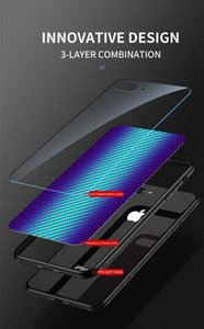 Glossy Gradient Carbon Fiber Design Tempered Glass Phone Case For Oneplus Nord N100 N10 8 Pro jllRQs yyysports