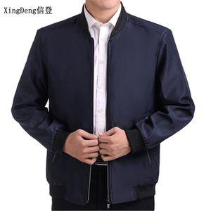 XingDeng 2020 Spring Autumn fashion Jackets Men business Casual Jacket Men Windbreaker clothing Male Coat Thin top Coat Outwear