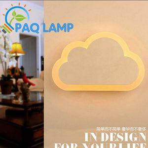Acrylic Engraving Wall Lamp Cloud LED Aisle Lamp Corridor Lights AC 90-260V 8 12W Power LED Indoor Lighting