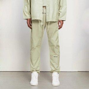 20FW FG Laser Reflective Nylon Trousers Street Drawstring Pants Outdoor Track Pants Casual Elastic Waist Pant Sweatpant HFYMKZ289
