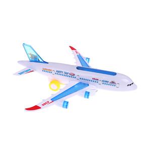 Популярные Airbus Model Electric Wanxiang Airbus Aircraft Music Lighting Aircraft Детские популярные игрушечные подарки DIY Модель самолета