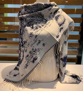 luxury designer cashmere scarf pashmina for women classic fashion ladies winter scarves shawl designer cashmere wool scarves scarfs