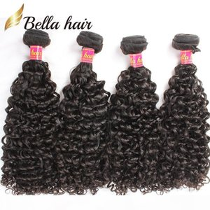 Bella Hair Brazilian Hair Bundles Curly Virgin Human Hair Weft Extensions Curly Weaves 4pcs lot Bundles Wholesale in Bulk