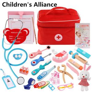 Дети притворяются доктор доктор набор набор роль играть в классические игрушки симуляция для детей девушки классики интересные медицинские тематические игрушки 201021