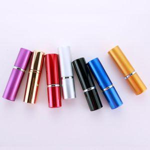 10pcs lot 10ml perfume atomizer glass spray Empty Bottle Glass Perfume Cosmetics Sprayer Free Shipping