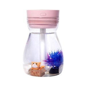 Colorful Breathing Lamp Home Humidifier Air Purification Water Meter Desktop USB Small Atomizer