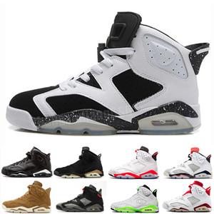 New Bred Men 6 6s Basketball Shoes Tinker UNC Black Cat White Infrared Red Carmine Toro Mens Designer Trainer Sport Sneaker Size 41-47 V5D6D