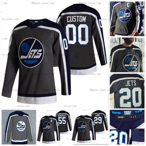 Patrik Laine Winnipeg Jets 2021 Reverse Retro Jersey 4XL Derek Forbort Nathan Beaulieu Connor Mark Scheifele Blake Wheeler Nikolaj Ehlers
