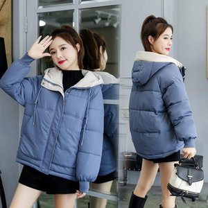 Winter Hooded Warm Women Casual Long Down Jackets Ladies Thicken Cotton Parka Plus Size Outerwear Harajuku Oversized Coat Green
