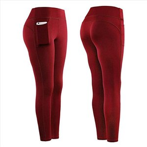 Fitness Legging Women Workout Stretch Leggings Fitness Running Gym Sports Pockets Active Pants Woman Sportswear f