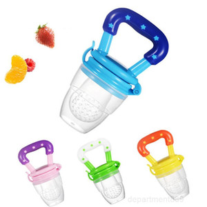 Baby Fruit Feeder Pacifier Infant Teething Toy Teether Food Grade Silicone Pouches For Toddlers And Kids OWD2950