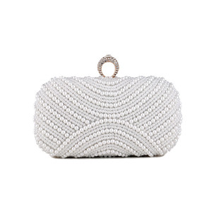 For Designer Women Handbag 2020 Purse Pearl Clutch ELegant Evening Shiny Bags Shoulder Luxurys Ndqxt Wedding Rhinestone Party Bag Bag Dpxcb