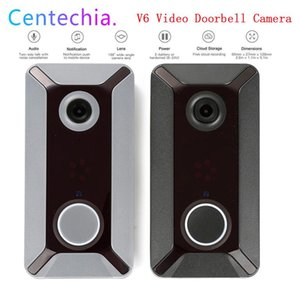 V6 WIFI Doorbell Smart IP Video Intercom 720P Video Door Phone Door Bell Camera for Apartments IR Alarm Wireless Security Camera