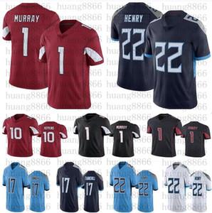 Uomini 22 Derrick Henry 17 Ryan Tannehill 10 Deandure Hopkins 1 Kyler Murray Jerseys