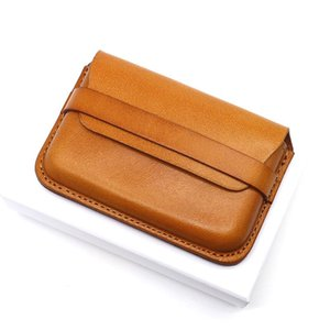 2020 Fashion leather men wallet Leisure women wallet genuine leather wallets for men card holders purse free C6107