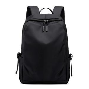 ABDB-Men Backpack Fashion School Bag WaterProof Travel Backpacks Men External USB Charging Backpack Male 15.6Inch Laptop