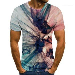 Style Tops d'été Hommes o Cou Surdimenseur Tees Mens Designer Creative T-shirts Creative Street Mens Streved Mens