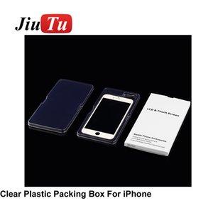Wihte Box Бумага для iPhone 5 6 7 8 X ЖК-экран Упаковка Упаковка для розничной мобильный телефон для ремонта сотовых телефонов магазин