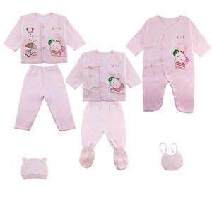 set Newborn Clothing Set Spring Autumn Baby Boys Girls Clothes suits Cotton Cartoon 0- LJ201223