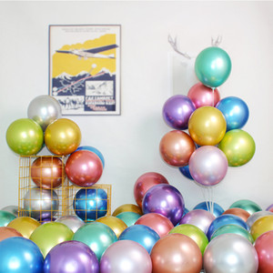 10 Inch 1.8g Birthday Wedding Supply Latex Balloons Colorful Party Latex Air Ballon Kids Inflatable Toy 1lot=50pcs Kimter-X897FZ