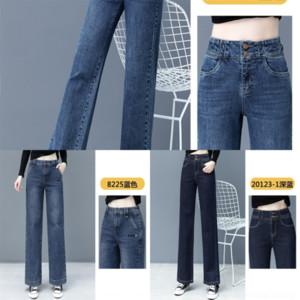 z8bx mulheres senhora jeans branco casual cintura alta calça jeans senhoras mulher denim calças furo bolsos coreano fada fada soild calças de denim