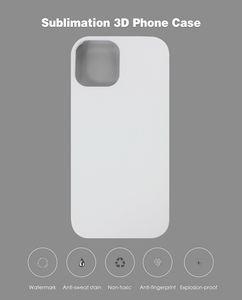 Para iPhone 12 Mini 12pro 3D Sublimation Matte PC Funda en blanco para iPhone 12 Pro Max