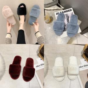 Rlqs1 Fashion designer Sandals Women Slipper Plushy Popular Slide Summer Top Luxury Quality letter Wide Flat Men Sandals Slipper Flip